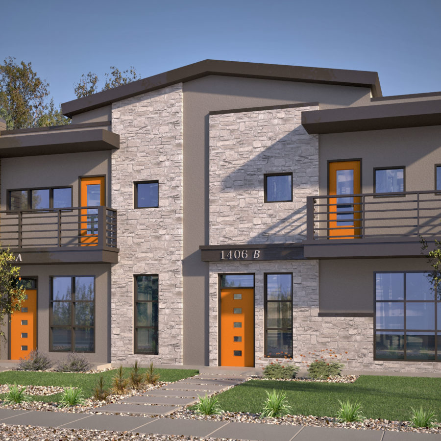 Avi Homes Single Duplex Orange