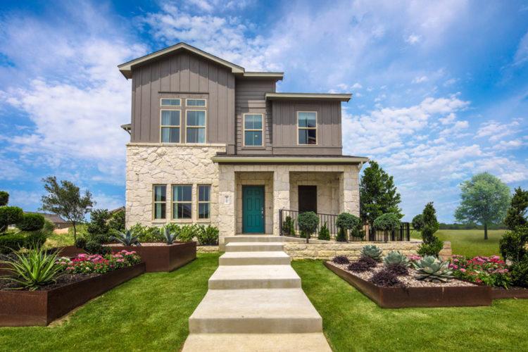Mi Homes Model Exterior/Landscaping
