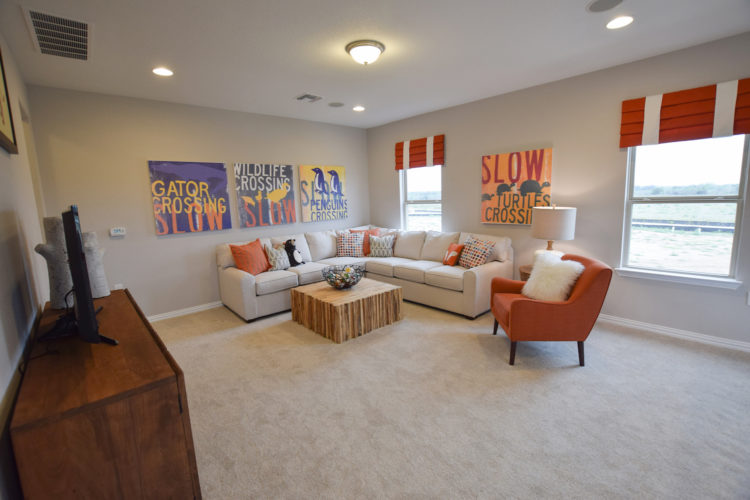 MI Homes Model Game Room