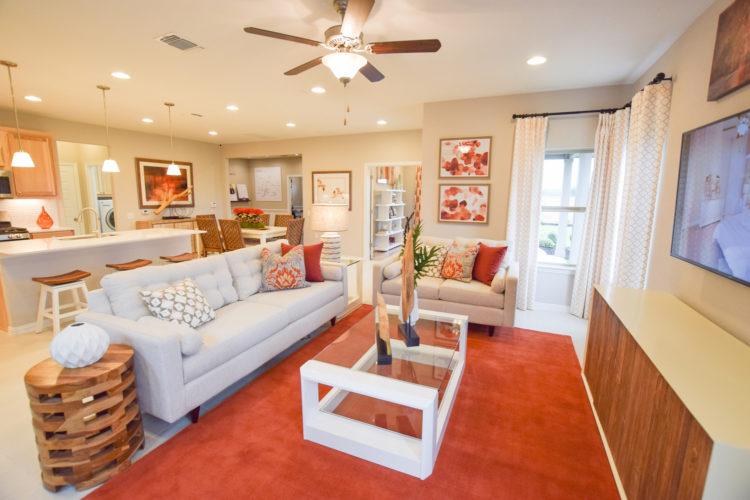 MI Homes Model Living Room