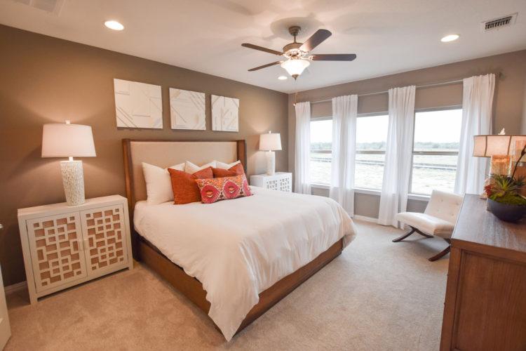 MI Homes Model Master Bedroom
