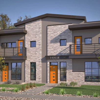 Avi Homes Single Duplex Orange