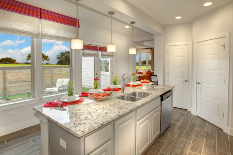 Empire Model Home Kitchen
