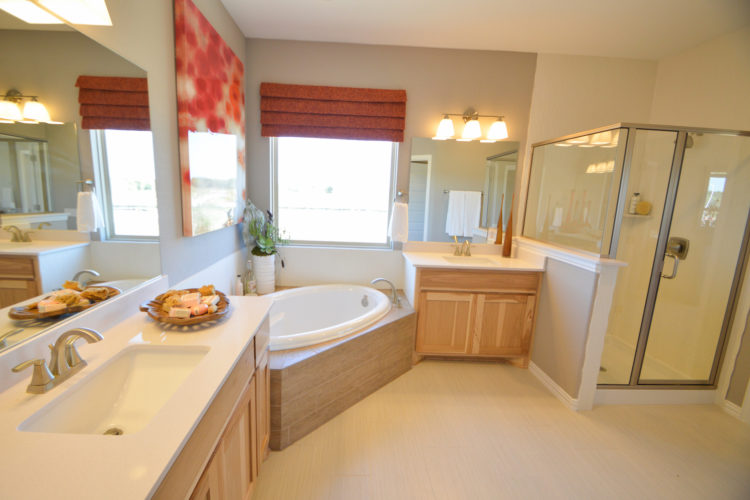 MI Homes Model Bathroom