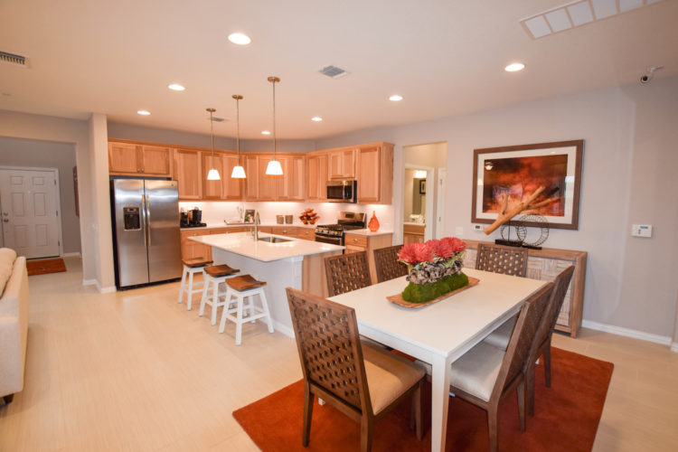 MI Homes Model Kitchen