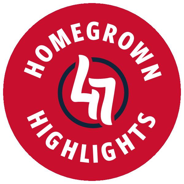 Homegrown Highlights Logo Red Navy RGB